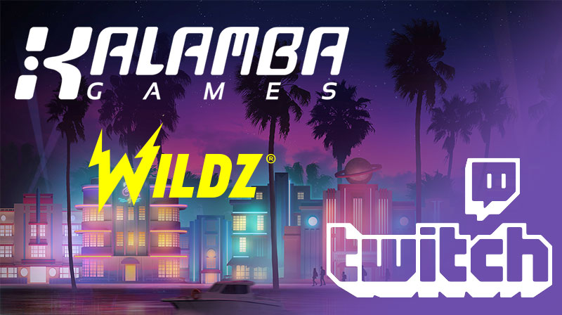 Kalamba and Wildz gift in the streaming tournament in Twitch