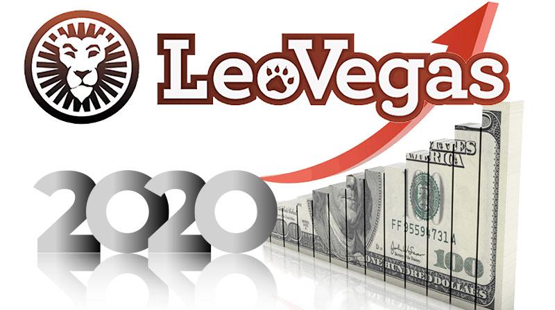 Leo Vegas casino growth