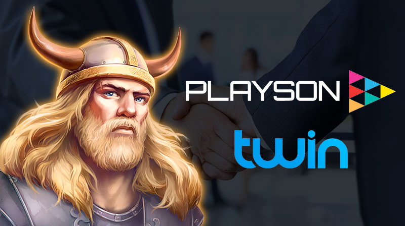 Twin Casino partner with Playson