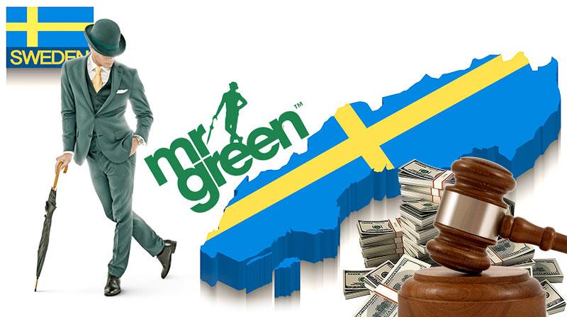 Mr Green penalty in Sweeden