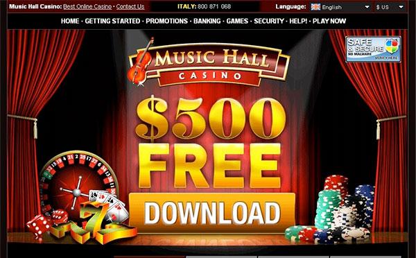 Music Hall Casino