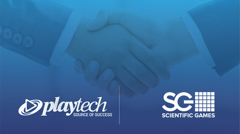 Playtech and Scientific Games Partnership