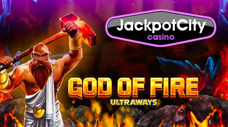God of Fire at JackpotCity Casino